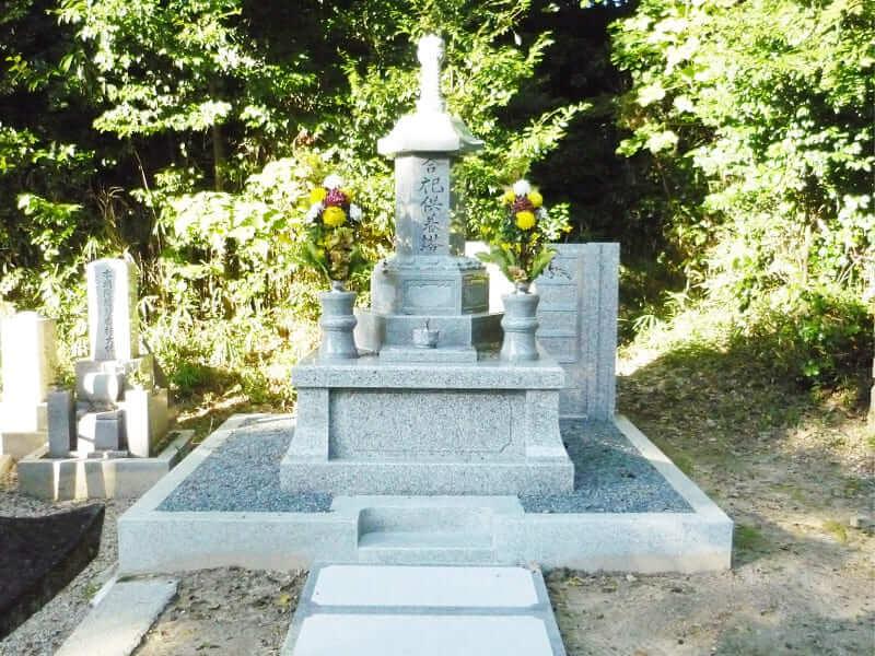 今熊野観音寺桜楓苑の墓石