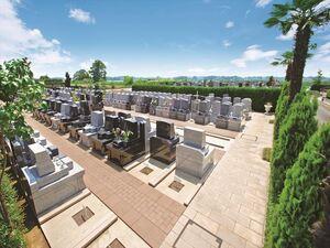 西上尾メモリアルガーデン 墓地風景