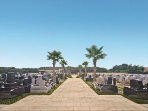 メモリアルガーデン桶川霊園の全景