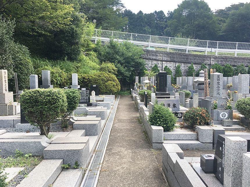 武蔵岡霊園9