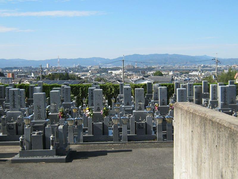 星の丘霊園の墓地