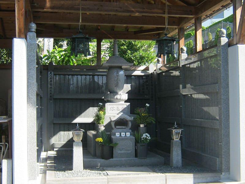 星の丘霊園の供養塔