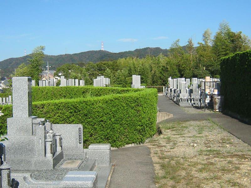 星の丘霊園の墓域