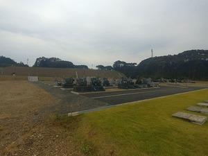 袋井市夢の丘墓園の全体雰囲気