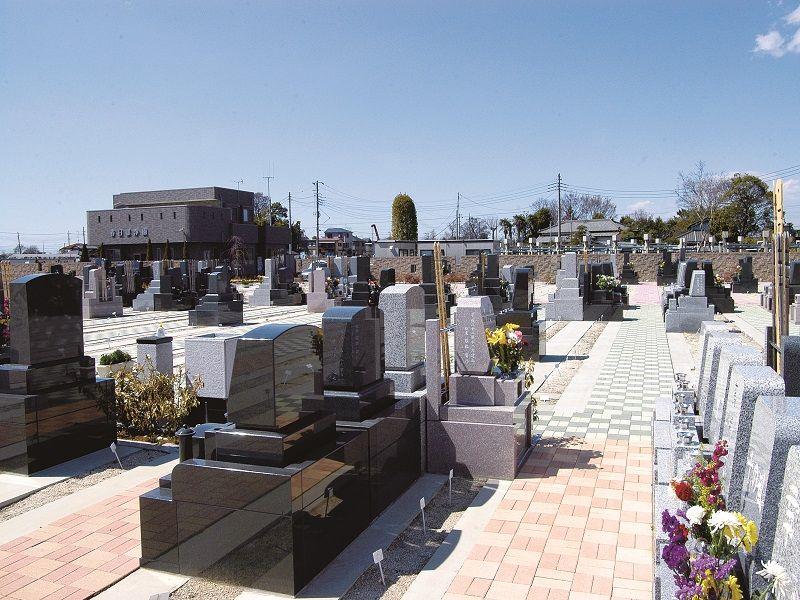 グリーンパーク春日部浄園 墓地風景
