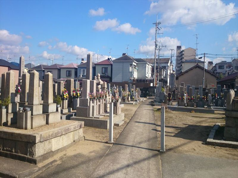 伊賀共同墓地