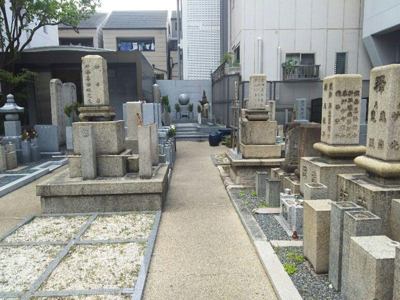 妙中寺墓地